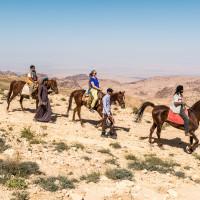 Jordan - horse back riding