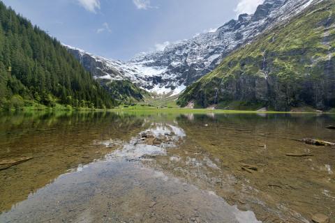 Der Hintersee im Salzburger Land