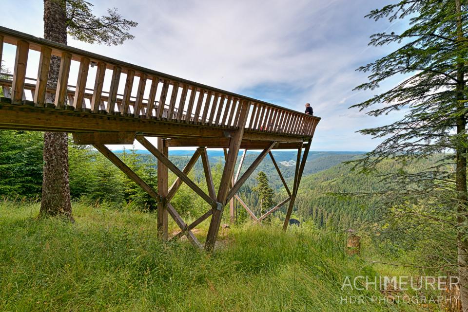 Aussichtsplattform auf den Schwarzwald