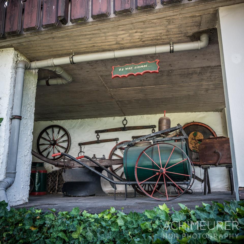 Mini Privat-Museum in Aach