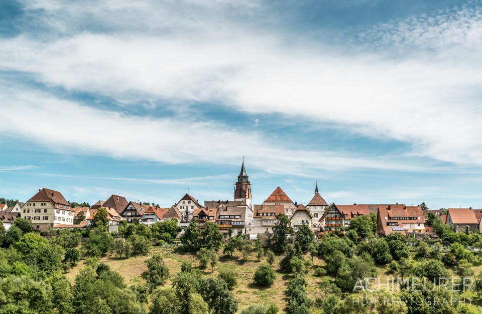 Die Altstadt von Dornstetten