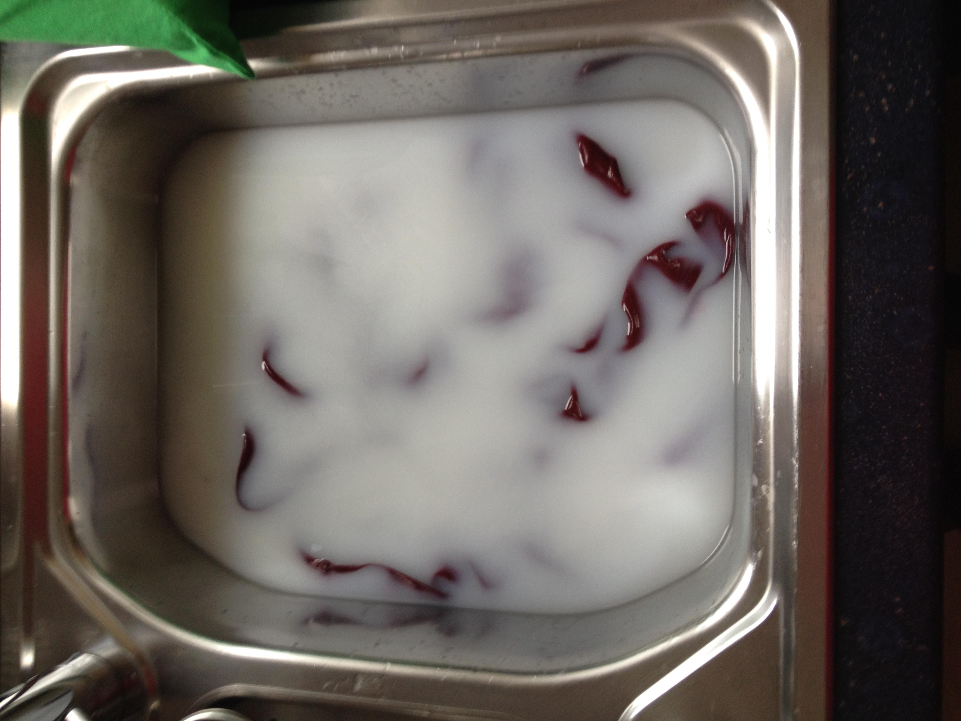 Buttermilch Behandlung für Seide