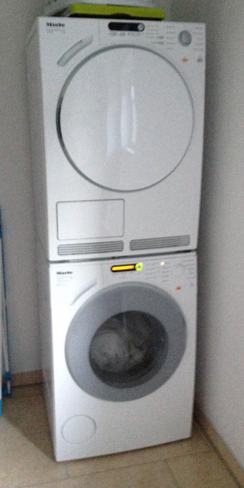 Waschmaschine fehlt auf der Walz