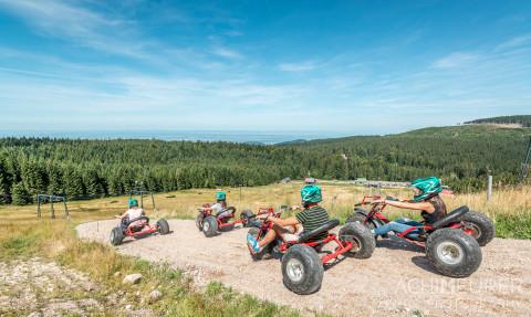 Bobbahn, Downhill Carts und Klettergarten
