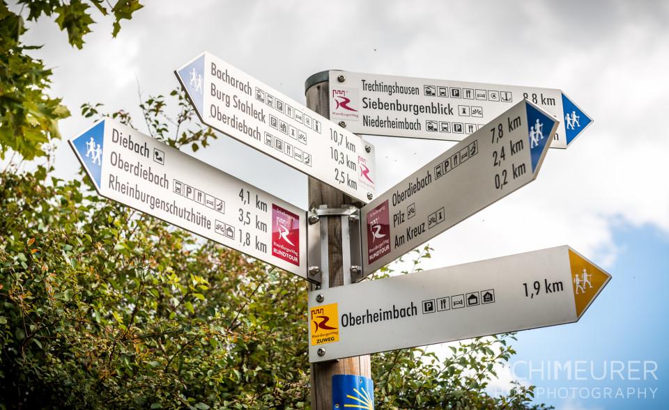 Der Rhein-Burgen-Wanderweg