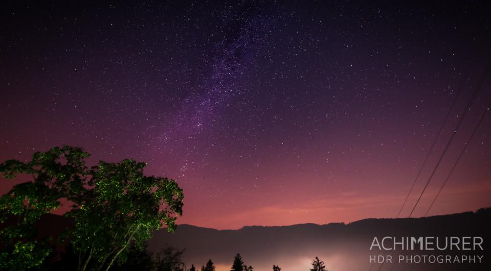 Sternenhimmel im Schwarzwald