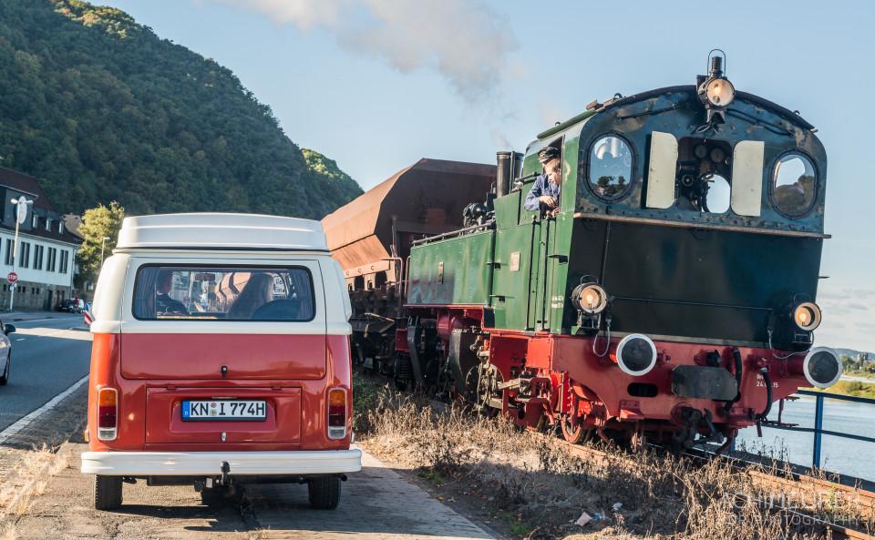 PeterVan und die alte Lokomotive