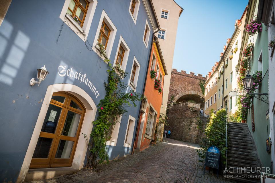 Die Altstadt in Meißen