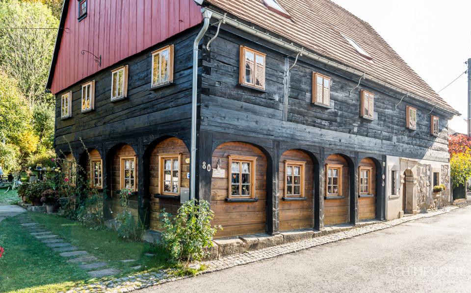 Umgebindehäuser in der Oberlausitz