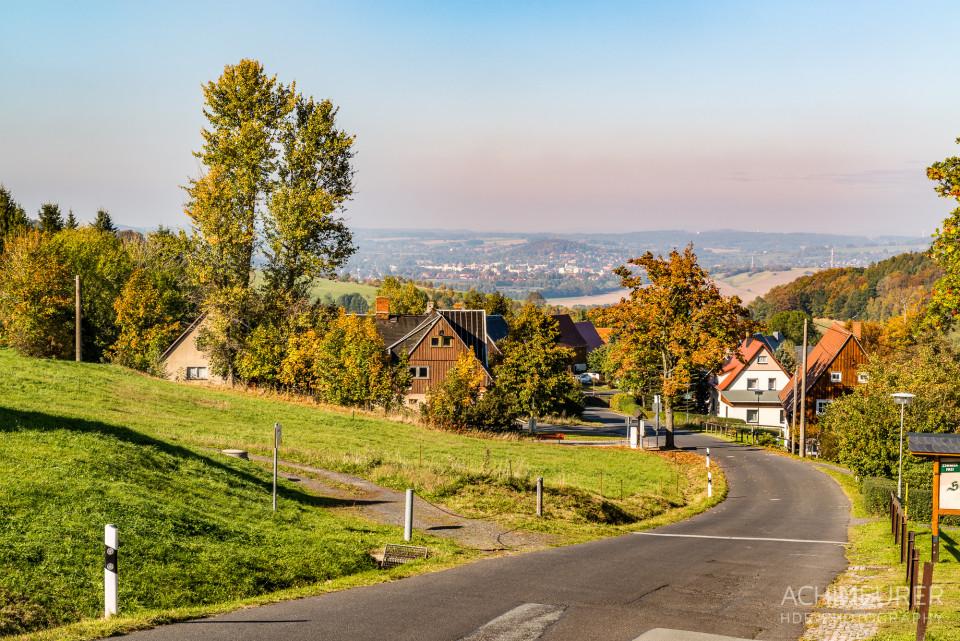 Ausblick von der Sonnenbergbaude in Wildberg