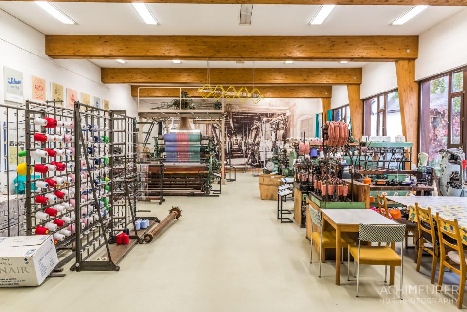 Schauwerkstatt im Damastmuseum