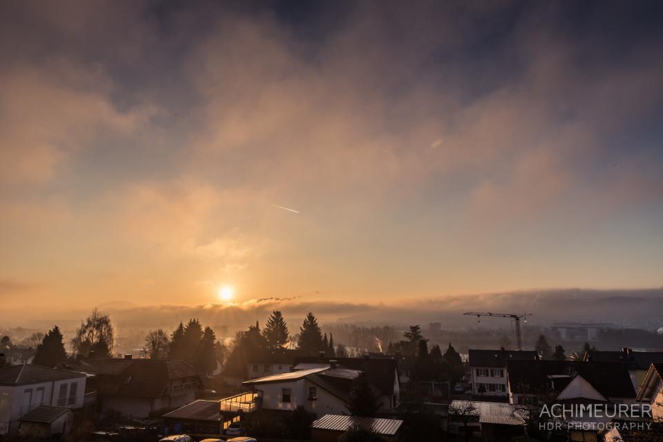 Sonnenaufgang über Bad Säckingen