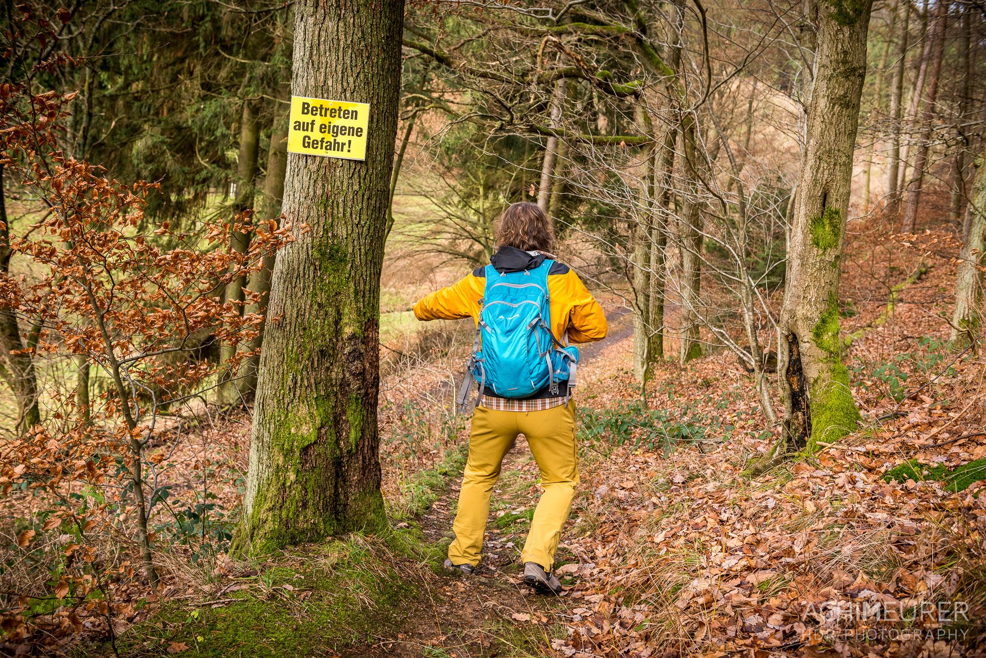 Wanderweg im Kottenbachtal in Biedenkopf