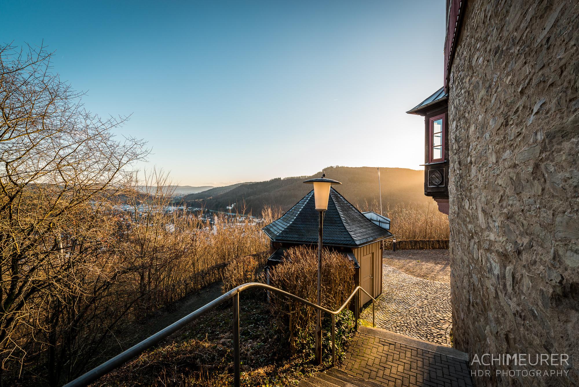 Spaziergang am Schlossberg in Biedenkopf