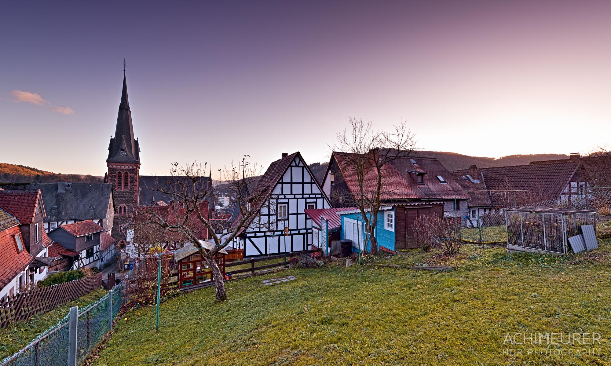Fachwerkhäuser in Biedenkopf