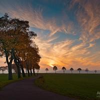 Sonnenuntergang Sachsen