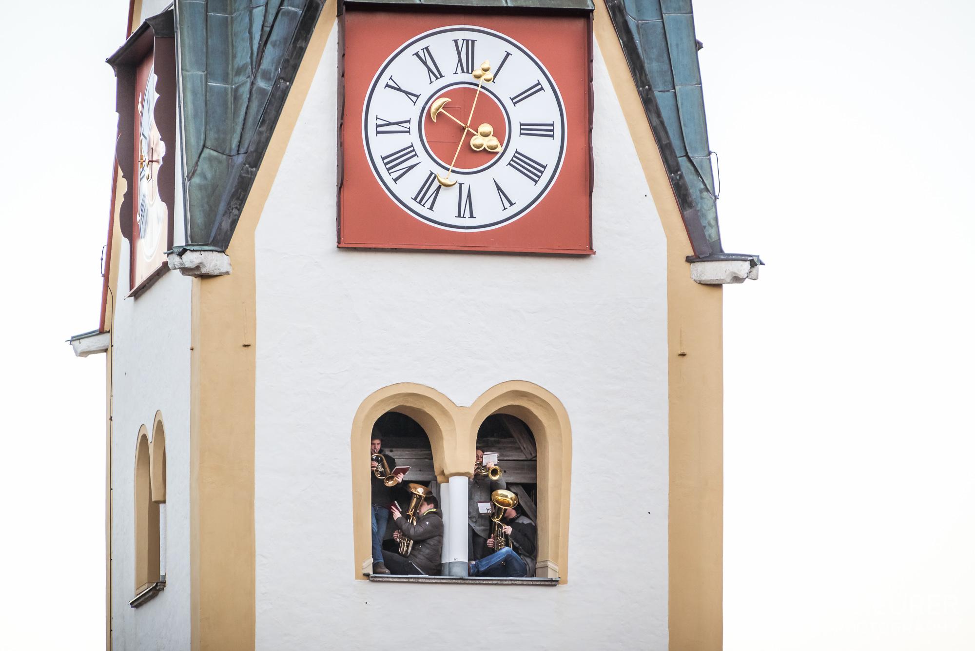 Turmbläser Heilig Abend Abtenau