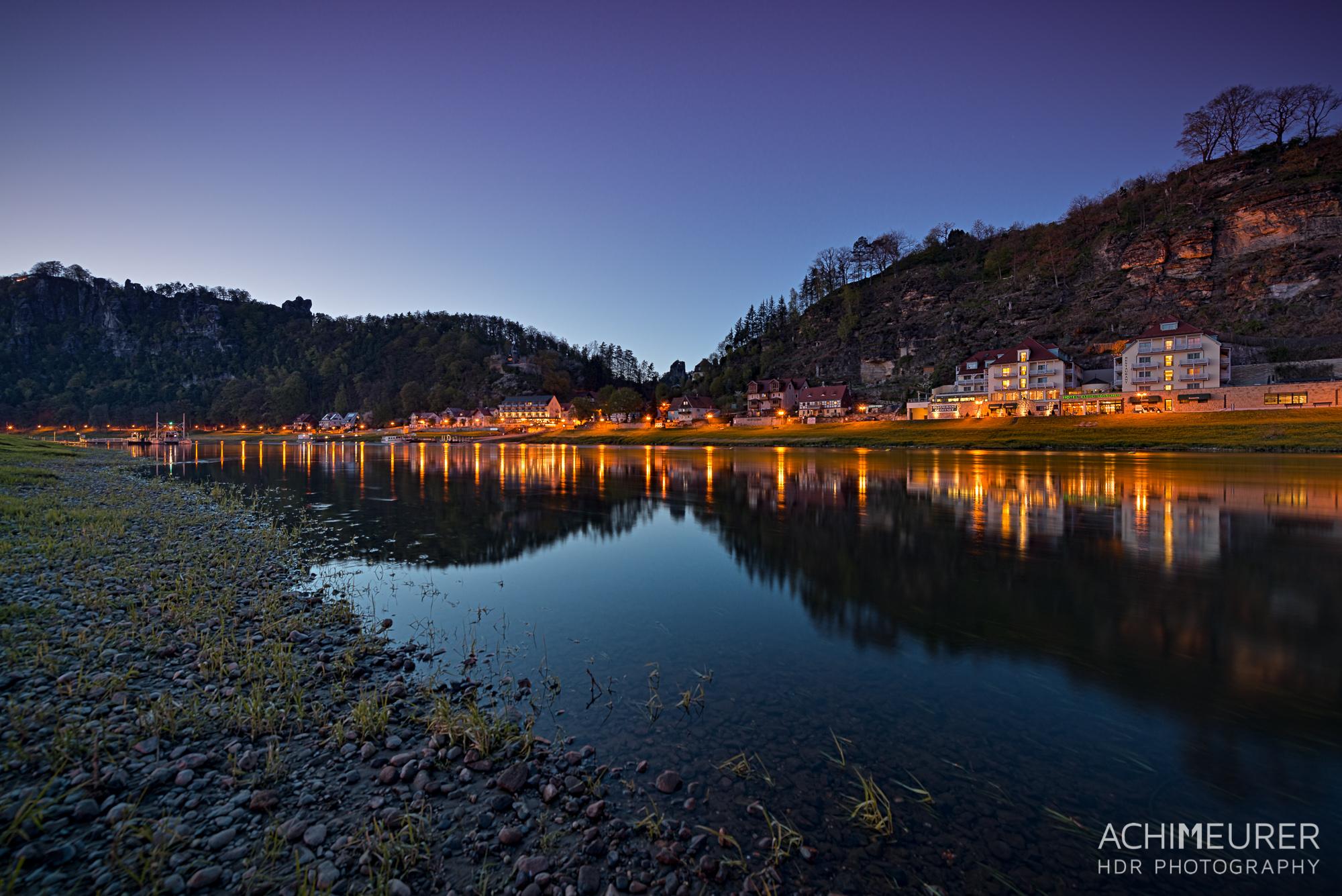 Saechsische-Schweiz-Rathen-Blaue-Stunde_9137_6_5_4_3_HDR