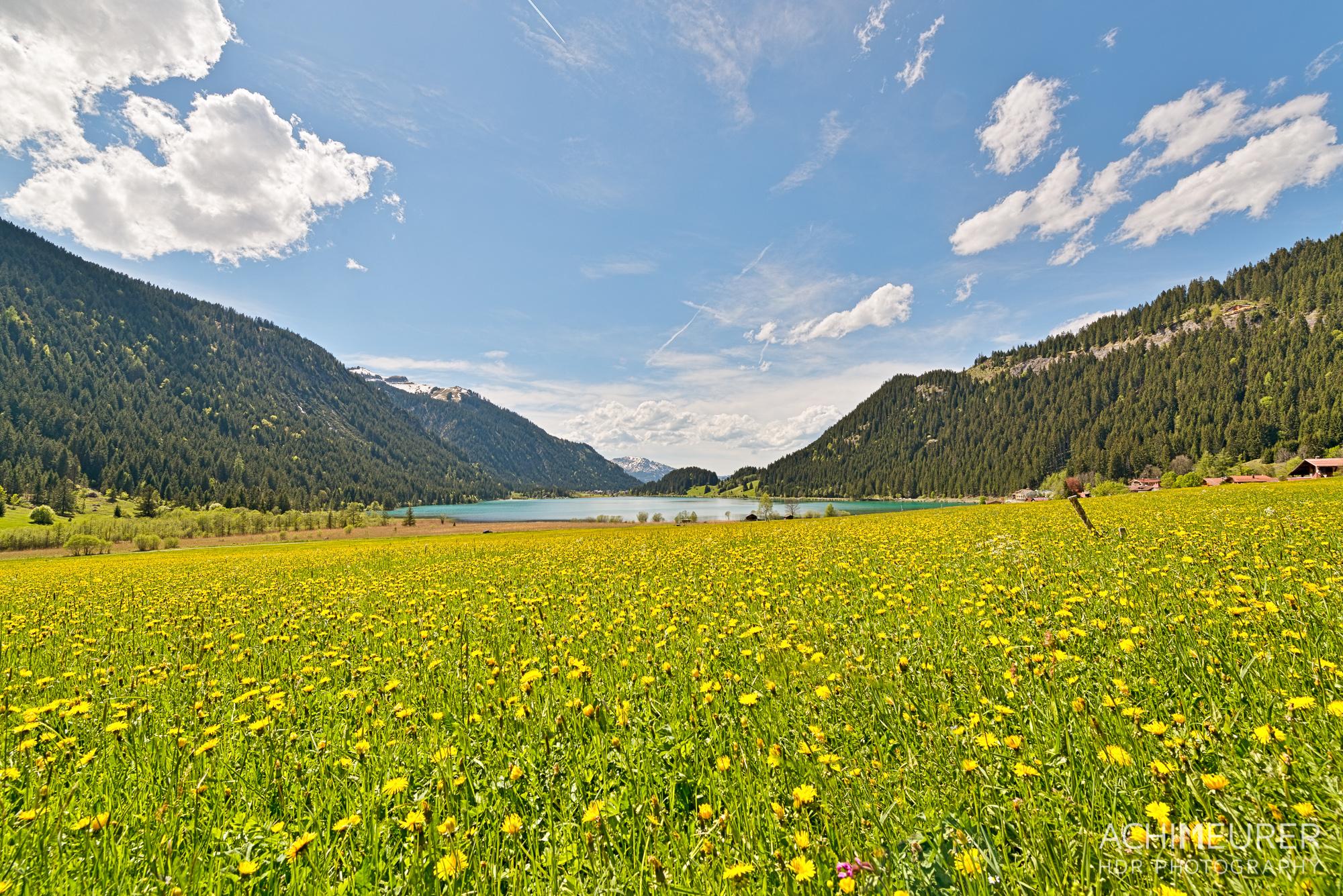 Tannheimer-Tal-Fruehling-Landschaft-See-Haldensee_1979_8_7_6_5_HDR-Bearbeitet