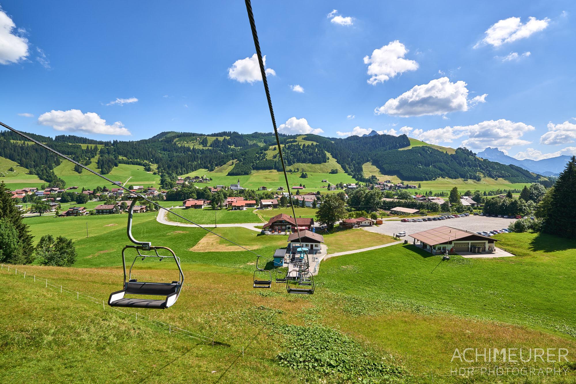 Tannheimer Tal Sommer Wandern Schattwald