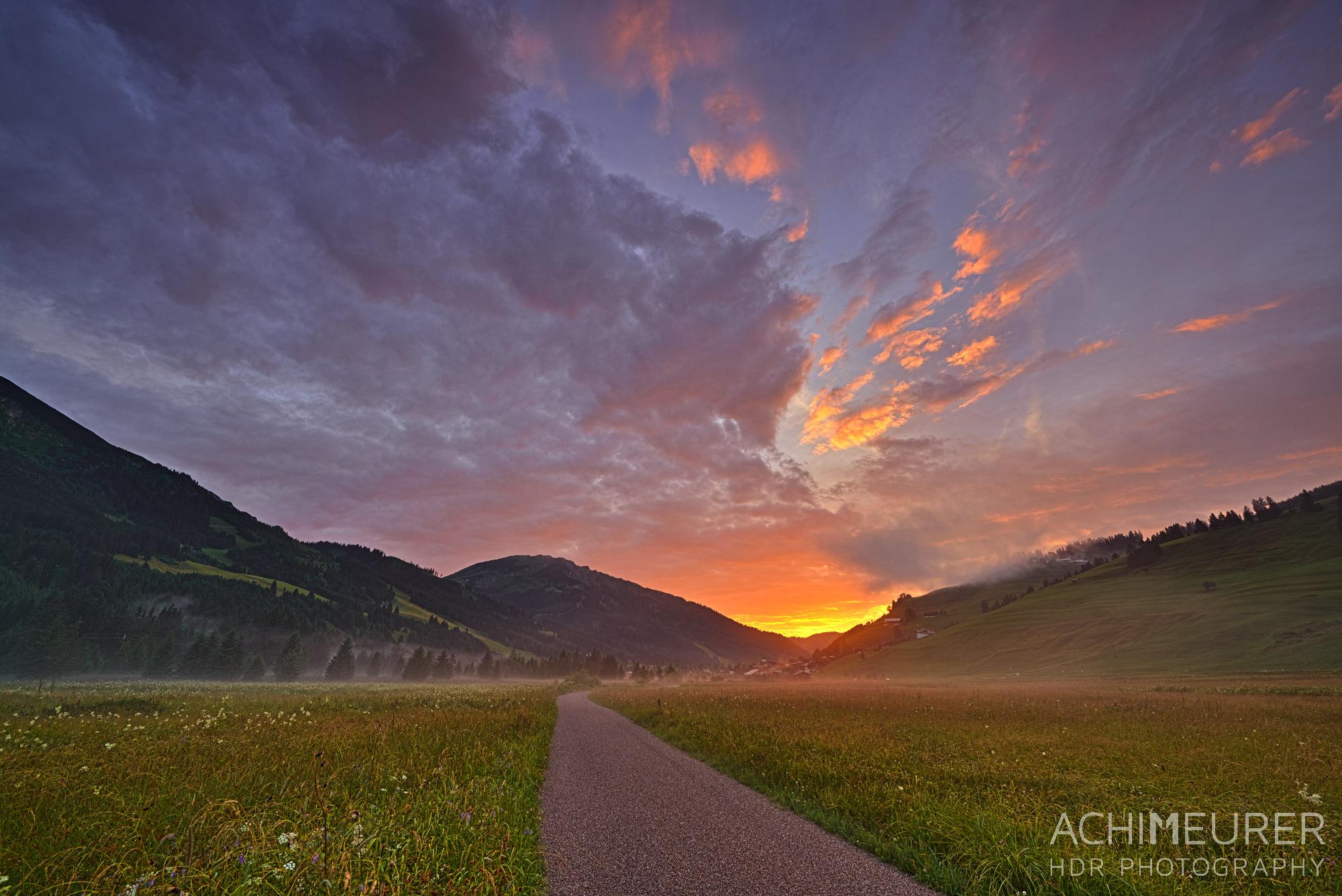 Tannheimertal-Sommer-Sonnenuntergang_8112_HDR 1