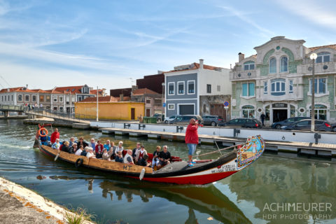 Die Stadt Aveiro in Portugal by AchimMeurer.com .