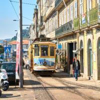 Die Küstenstadt Porto im Norden von Portugal by AchimMeurer.com                     .