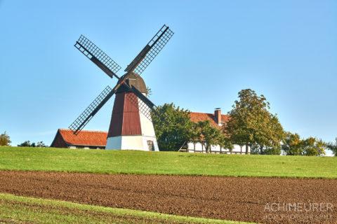Windmühle im Nördlichen Harzvorland #nhavo by Array.