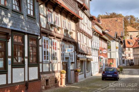 Fachwerkhäuser in Hornburg - Ortsansichten in #nhvo by AchimMeurer.com .