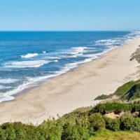 Auf dem Weg von Porto nach Lissabon an der Küste entlang - Aussichtspunkt bei Figueira da Foz by AchimMeurer.com                     .