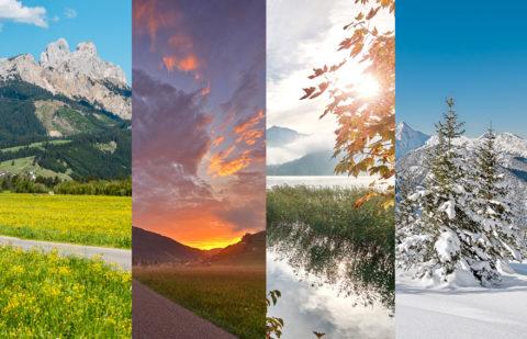 Alle vier Jahreszeiten im Tannheimer Tal