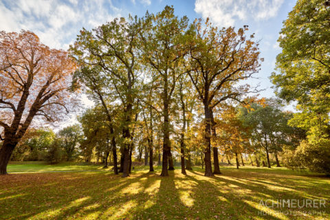 Parkanlagen im Herbst in Wolfenbüttel by AchimMeurer.com .