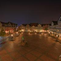 Nachtaufnahme Wolfenbüttel by Array.