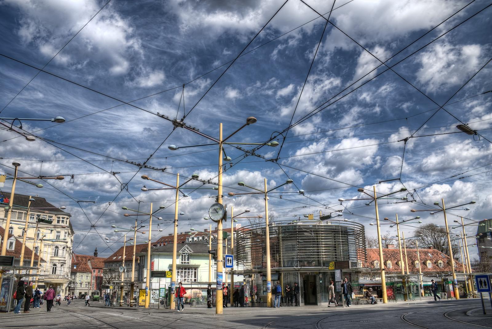Jakominiplatz Graz HDR by .