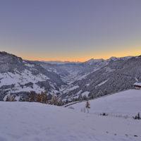 winter-landschaft-sonnenuntergang-grossarl-salzburgerland_7163_hdr by Array.