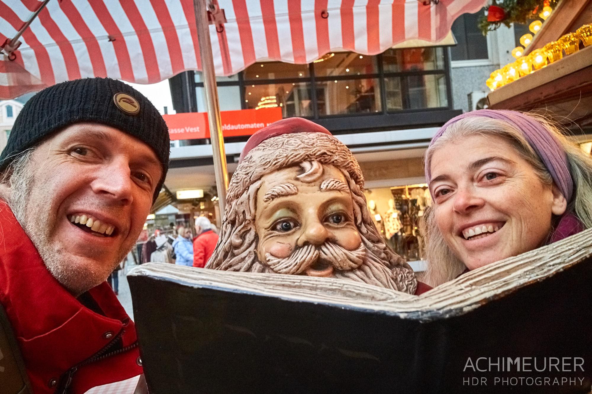 Der Weihnachtsmarkt in Recklinghausen by @ Achim Meurer.