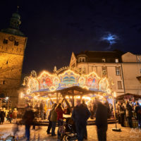 Der Weihnachtsmarkt in Recklinghausen by Array.