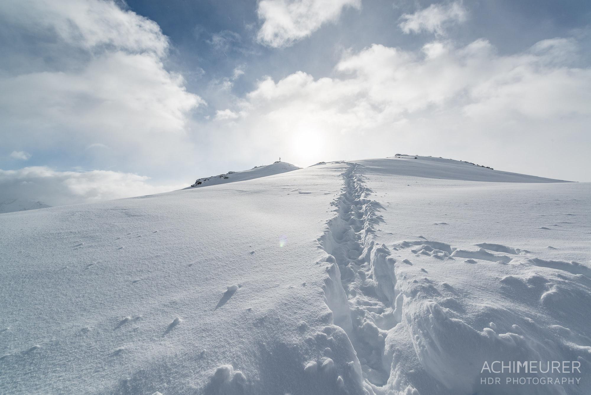 Der Weg zum Gipfel - Sportgastein, Salzburgerland, Österreich by Array.