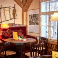 Ausflugslokal Brandbaude mit Panoramaausblick by AchimMeurer.com                     .