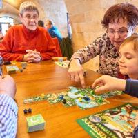 Carcassonne Fan-Treffen, Spielenachmittag auf der Festung Königstein by AchimMeurer.com                     .