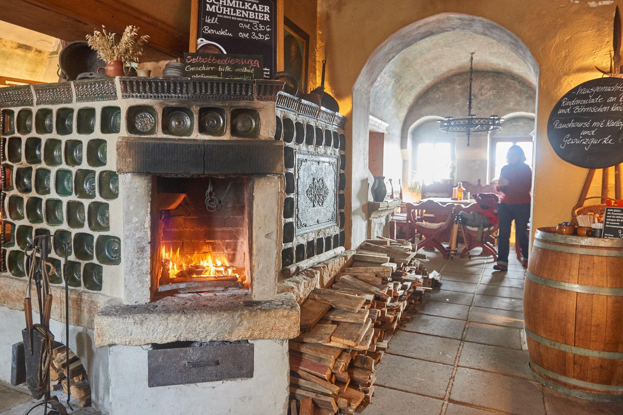 Das Restaurant Musketier auf der Festung Königstein Sächsische Schweiz by AchimMeurer.com .