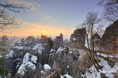 Visit Saxon Switzerland in Winter
