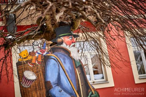 Das Winterdorf Schmilka in der Sächsischen Schweiz. by AchimMeurer.com .