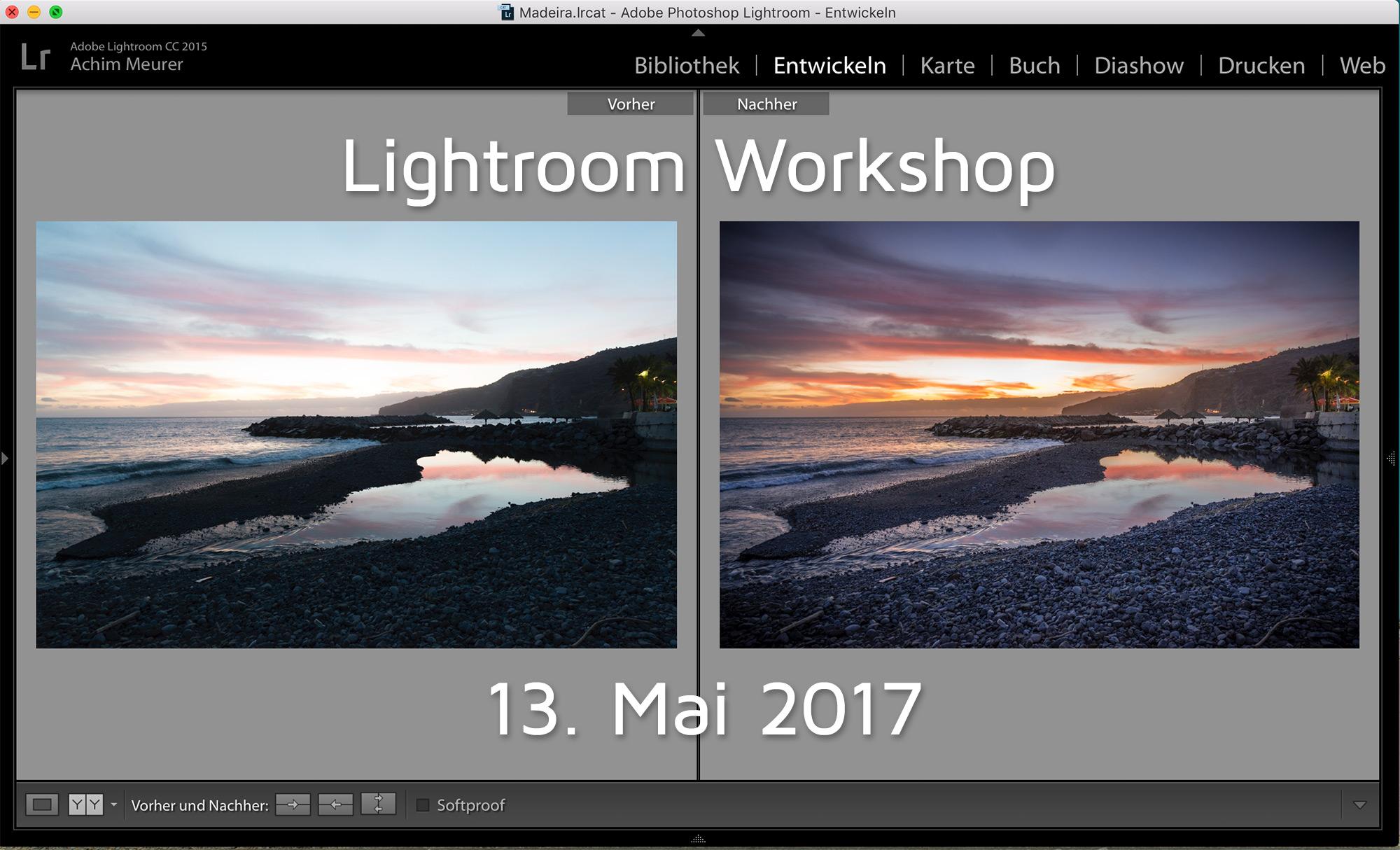 Lightroom Workshop mit Kochkurs
