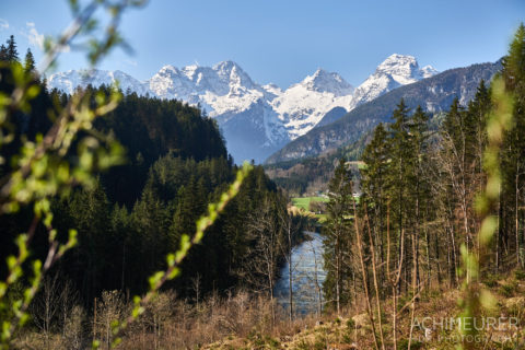 Frühling im Saalachtal im Salzburgerland by AchimMeurer.com                     .