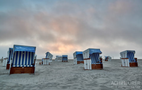Sankt Peter-Ording an der Nordsee by Array.