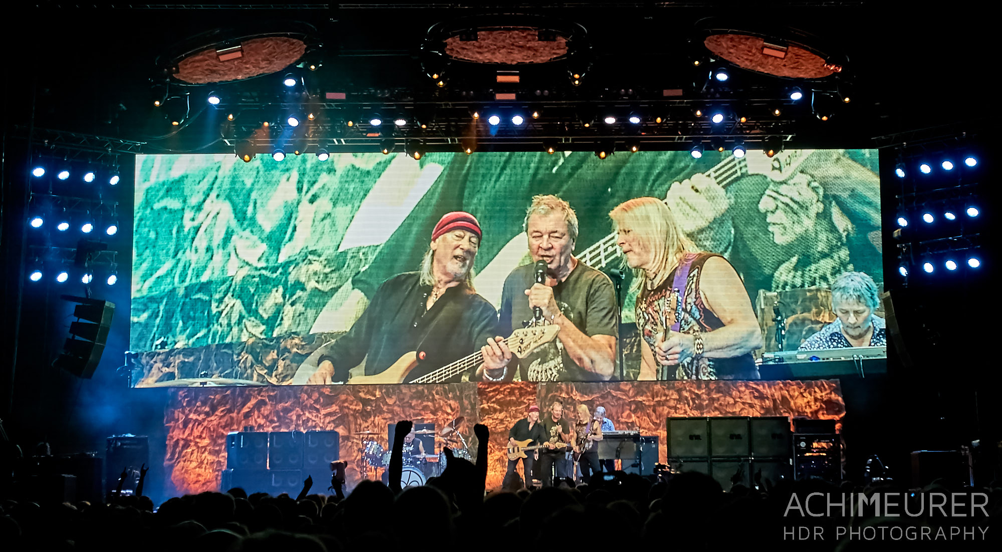 Deep Purple in Concert live 2017 in Hamburg by Achim Meurer.