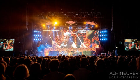 Deep Purple in Concert live 2017 in Hamburg by Achim Meurer.