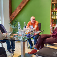 Social Media Workshop beim Winzer Köth in Nieder-Flörsheim by Achim Meurer.