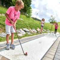 Minigolf Jungholz, Tannheimertal, Tirol,  Österreich by AchimMeurer.com                     .